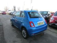 2017 Fiat 500 1.2 Mirror (s/s) 3dr Petrol blue Manual