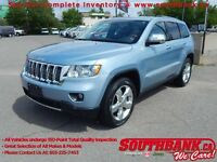 2012 Jeep Grand Cherokee Overland3.6L ROOF, NAV, R.CAMERA, TOW P