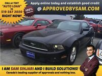 "MUSTANG - TEXT ""AUTO LOAN"" TO 519 567 3020 GUARANTEED CREDIT"