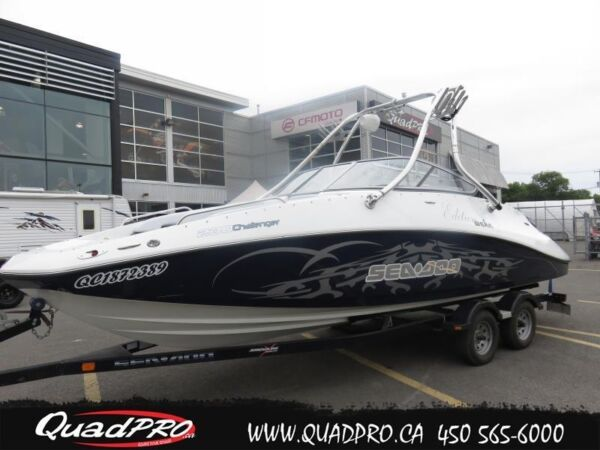 Used 2008 Sea Doo/BRP CHALLENGER 230 !! EDITION WAKE !!