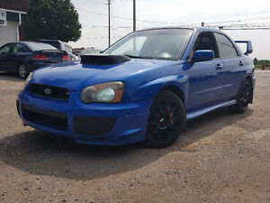 2005 Subaru Impreza WRX STi 6 SPEED REAL STI Sedan