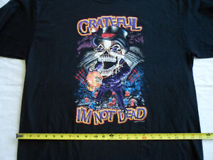 """GRATEFUL I'M NOT DEAD"" SHIRT, HALLOWEEN SHIRT"