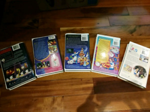 Collector's Beauty and the beast VHS cassettes set
