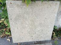 pavé uni à vendre, dalle de beton