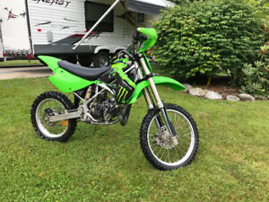 2009 kx100