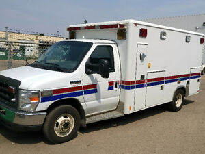 2008 Ford E-Series AMBULANCE CRESTLINE Van E450 WATCH VIDEO