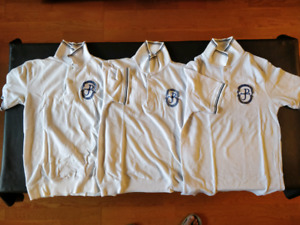SAINT (POPE) JOHN PAUL II CSS Uniform Small Size Shirts Lot