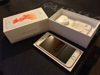 iPhone 6s rose gold - 16GB unlocked to any network