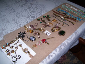 Estate Jewelry--Watches, Broaches, Necklaces, Rings, Broaches