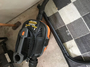 Rigid portable vac