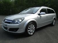 06/06 VAUXHALL ASTRA 1.9 CDTI 120 ESTATE IN MET SILVER WITH SERVICE HISTORY