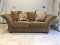 Pair of 3 Seater Sofa's and Foot Stool