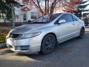 2009 Honda Civic Coupe 5 Speed Sunroof Winter Tires