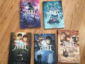 5 Amulet graphic novels