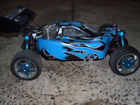 Red Cat Racing Shockwave  1/10 Buggy Nitro RC Teleguide