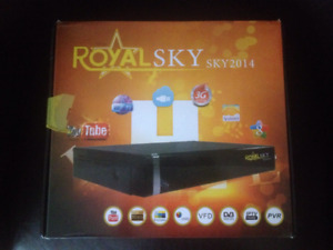 Satellite Receiver Royal Sky Brand New