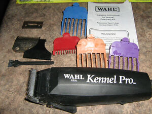 10 Piece Wahl Kennel Pro Grooming Set $50