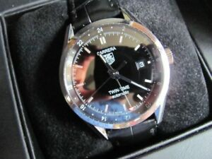 Tag Heuer Twin time GMT automatic watch