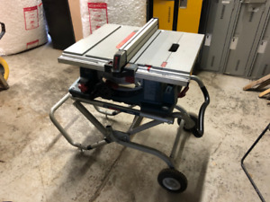 Bosch 10-inch Worksite Table Saw with Gravity-Rise Wheeled Stand