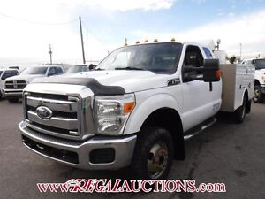 2011 FORD F-350 XLT S/CAB SERVICE BODY 4WD XLT