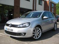 2009 VW Golf 2.0 GT TDI 140,NEW MODEL,GREAT SPEC AND COND,OVER 70MPG!!!!