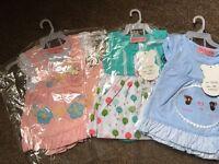 3 baby dresses 0-3