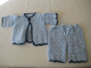 Boys Crocheted Outfit