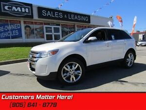 2013 Ford Edge Limited   AWD 3.5L  NAV  ROOF  HEATED LEATHER SEA