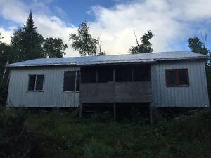 Chalet/Camp de chasse et pêche
