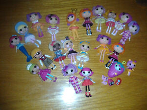 Lalaloopsy Mini dolls Lot