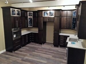 ALL SHOWROOM DISPLAY CABINETS MUST GO