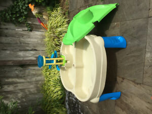 Kids water and sand play table