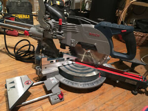 Bosch small sliding miter saw