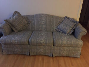 couch and swivel rockers