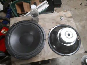 LOT OF SUBWOOFERS 4 12""