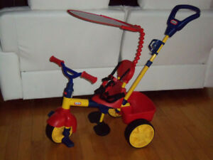 Tricycle little tikes Impeccable comme neuf, PEU SERVI !!
