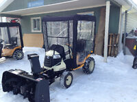 26 HP Cub Cadet Tractor with Snowblower and Winch