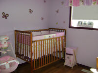 Crib Set - Butterfly