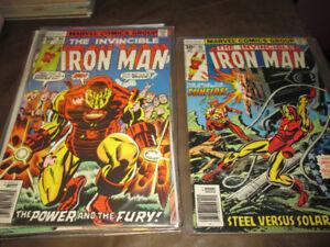 Ironman Comics - 1970's