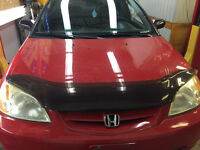 Honda Civic Hood Red