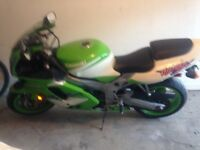 Motorcycle for sale great condition very clean