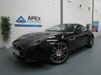 2016/16 Jaguar F-Type R 5.0 V8 Supercharged AWD + Pan Roof + Sports Exhaust +