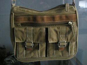 Brand New Small Hipster Canvas Crossbody Shoulder Bag Purse