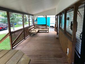 Covered deck for sale