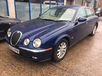 Jaguar S-TYPE 2.5 V6 auto SE 4 DOOR - 2003 53-REG - 5 MONTHS MOT