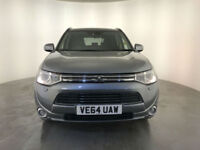2014 64 MITSUBISHI OUTLANDER GX 4HS PHEV AUTO 4WD 1 OWNER FINANCE PX WELCOME