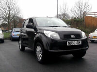 LATE 2006 56 DAIHATSU TERIOS 4WD 1.5 S DUAL FUEL LPG CONVERTED BLACK PX SWAP
