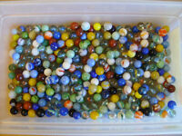 Glass Marbles Lot