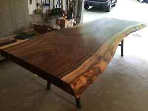 Dining table slab. Exotic