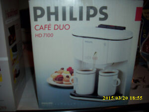 Philips Duo 2 cup Coffee maker